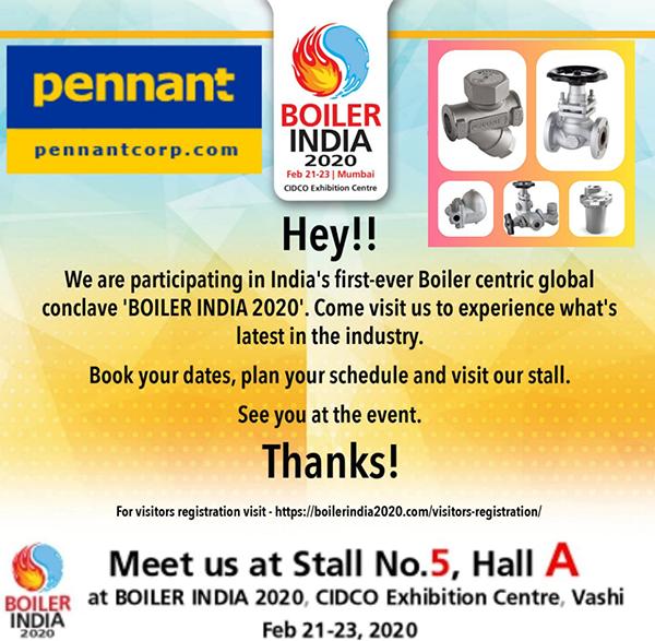 Boiler India 2020 Exhibition